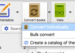 PDF to ePub batch converter
